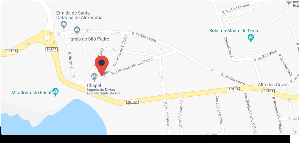 Onde estamos, ver no Google Maps